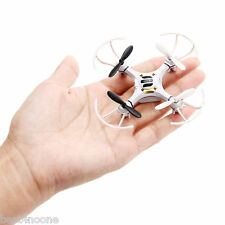 Mini Explorers RC Quadcopter 4CH 2.4GHz 6-Axis Gyro 3D Flying LED Drone White