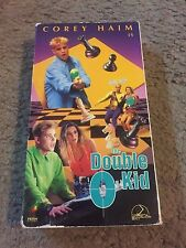 The Double O Kid VHS Tape Corey Haim Brigitte Nielsen