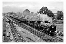 bb0274 - Steam Train 70016 at Magor in 1961 - photograph