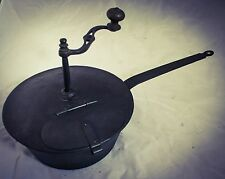 Antique COFFEE ROASTER PAN Koffiebrander Grilloir Cafe Tostador Kaffeeröster