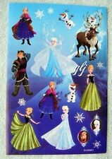 FROZEN - DISNEY #4 - GLITTER SCRAPBOOKING STICKERS NWOP