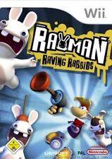 Nintendo Wii +Wii U RAYMAN RAVING RABBIDS DEUTSCH Neuwertig