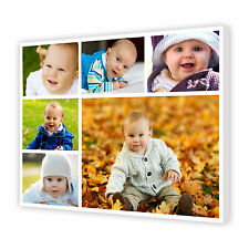 Your Personalised Photo Collage on Canvas Custom Print Christmas Gift 16x20 A2