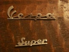60's and 70's Vespa Scooter Leg Shield Emblem Badge set 150 VBC Super