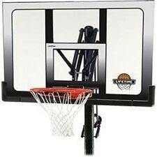 Lifetime Basketball Hoop 71281 52-inch Backboard InGround System