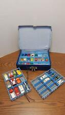 34 Car VTG Matchbox Collection w/1968 Lesney Collectors Case ENGLAND