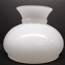 "STUDENT LAMP GLOBE OPAL OIL KEROSENE LAMP GLASS SHADE KERO 7"" RAYO"