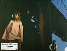 JULIE CHRISTIE GEORGE C. SCOTT PETULIA 1968 VINTAGE LOBBY CARD #5