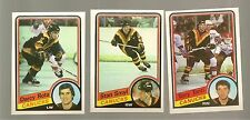 1984 - 85 Topps Hockey VANCOUVER CANUCKS Complete Team Set HIGH GRADE