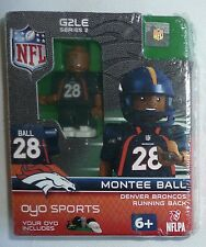 MONTEE BALL LEGO MINIFIGURE Denver Broncos NFL Oyo Sports G2LE Series 2  NEW