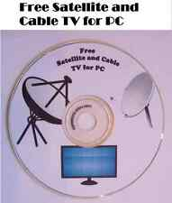 Free TV 10,000 satellite channels Cable television stations for PC on CD
