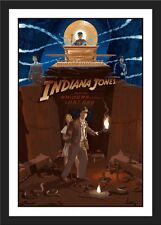 "NEW ""Indiana Jones and The Raiders Of The Lost Ark"" Print - Laurent Durieux"