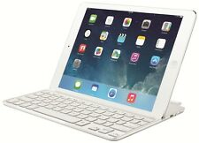 Logitech Ultrathin Magnetic Clip-On Keyboard Cover weiß für iPad Air 920-005520