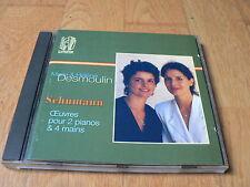 Marie & Hélène Desmoulin - Schumann : Piano Works - Oeuvres pour piano - Lyrinx