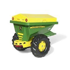 Rolly Toys John Deere Streuanhänger  Anhänger Kipper Trailer grün/gelb