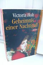 BUCH GEHEIMNIS EINER NACHTIGALL VICTORIA HOLT ROMAN TASCHENBUCH  BOOK !!!!!!