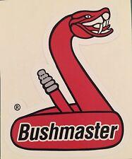 Bushmaster Snake Logo Vinyl Sticker Decal, Gun, AR15 **FREE SHIPPING**