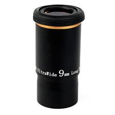 """1.25 """"Ultra Wide Angle Linse Okular 9MM 66-Deg Mehrfach vergütete für Teleskop"""