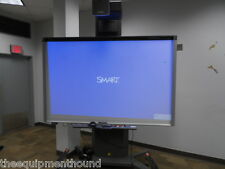 "SMART BOARD 800i5 INTERACTIVE WHITEBOARD SYSTEM UF75W PROJECTOR 87"" FS-UX CART"