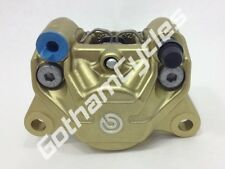 New Ducati Brembo Hypermotard 1100 1100S EVO Gold Rear Brake Caliper w/ Pads