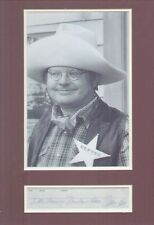 BENNY HILL SIGNED AUTOGRAPH