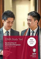 CIMA E1 Organisational Management: Study Text, BPP Learning Media EBook