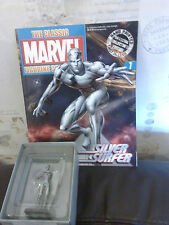 CLASSIC MARVEL FIGURINE COLLECTION 7 SILVER SURFER FIGURE BOXED W MAGAZINE