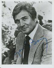 GENE BARRY Signed Photo