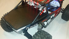 New Axial Yeti XL Scale Crawler vinyl Black Rear Tonneau Cover