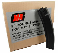 New MAG Box of 8 Pieces Value Pack 90rds Magazine for MP5 Airsoft AEG