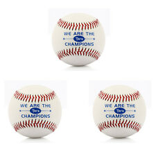 3PCS Baseball Softball Polyester Outdoor Sports Practice Trainning Ball 7cm New