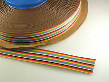 SAE 04424 Multi Coloured Ribbon Cable AWG 28-7/36 300V 105'C 24 way 5M OMR3-06