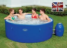 Bestway Lay Z Spa Monaco Rigid Wall | 8 Person Inflatable Hot Tub NEW SEALED BOX
