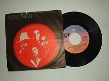 "Real Thing ‎/ Boogie Down (Get Funky Now)-Disco Vinile 45 Giri 7"" Italia 1979"