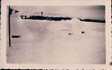FOTO MILITARI REGIO ESERCITO IN BUNKER CON NEVE ANNI '30 7-102