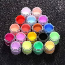 18 Colors Acrylic UV Polish Kit Decorate Manicure Powder Nail Art Set LY