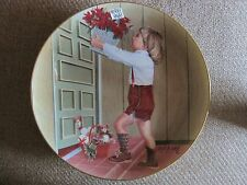 "ESCALERA'S ANNUAL CHRISTMAS SERIES PLATE ""ESPECIALLY FOR YOU"" 1983 SIGNED"