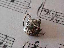 Vintage Sterling Silver TEAPOT Kettle Charm Ireland Irish