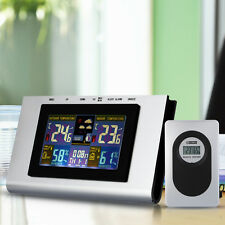 Digital LCD Wireless Weather Station Sensor Thermometer Home Indoor Humidity