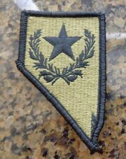 ARMY PATCH, ARMY NATIONAL GUARD HQS,NEVADA  ,MULTI-CAM,SCORPION, WITH VELCRO