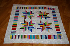 Scrappy Quilt Top for Baby - Lots of Color