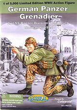 """2nd SS Panzer Div Panzer Grenadier WWII Gearbox Cotswold 12"""" fig G-90533"""