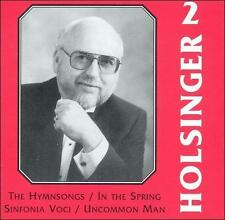 The Symphonic Wind Music of David R. Holsinger, Vol. 2 (CD, 1995, Mark...