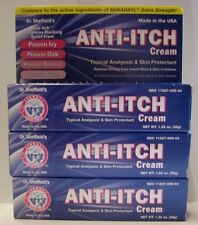 Diphenhydramine 2% Anti-Itch Cream (Compare to Benadryl Cream) 1.25oz -3 Pack