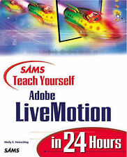 Sams Teach Yourself Adobe LiveMotion in 24 Hours, Holzschlag, Molly E., Used; Go
