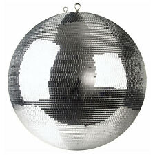 """300mm 12"""" Silver Professional Mirror Ball Mirrorball Small Facet Tile 5mm x 5mm"""