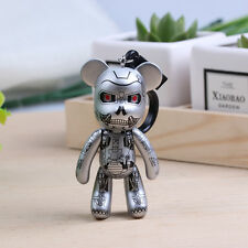 1pcs Popobe Gloomy Bear Doll Pendant Key Ring Chain Pendant Jewelry Silver