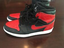 AIR JORDAN 1 RETRO HIGH OG red/black grey sz 9