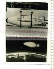 ORIGINAL PRESSEFOTO: LATEST SATELLITES of US AIR FORCE The DISCOVERER BIOMEDICAL