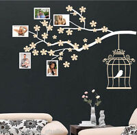 Photo Frame Tree Branch Wall Sticker WALL ART DECAL VINYL WALL ART STICKERS S67
